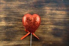 Amor El 14 de febrero Día del `s de la tarjeta del día de San Valentín Fotos de archivo