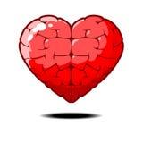 Amor elegante del corazón elegante Fotografía de archivo libre de regalías
