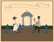 Amor em todas as vezes Fotografia de Stock Royalty Free
