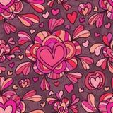 Amor em torno do amor sem emenda Fotos de Stock Royalty Free