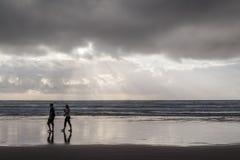 Amor en el mar Imagenes de archivo