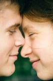 Amor en el parque foto de archivo libre de regalías