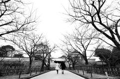 Amor en Japón fotos de archivo