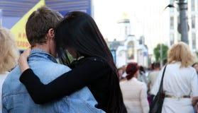 Amor en la ciudad Fotografía de archivo