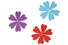 Amor en la floración Imágenes de archivo libres de regalías