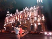 Amor en la noche Foto de archivo libre de regalías