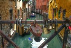 Amor en Venecia Fotografía de archivo libre de regalías
