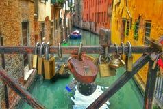 Amor en Venecia Imagen de archivo libre de regalías
