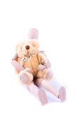 Amor entre el maniquí y el oso Fotos de archivo
