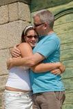Amor entre un padre y una hija Fotografía de archivo