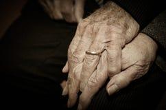 Amor envelhecido Fotografia de Stock
