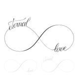 Amor eterno stock de ilustración