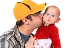 Amor Fatherly Foto de Stock Royalty Free