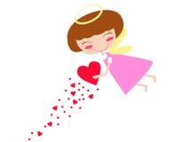 Amor feericamente ilustração royalty free