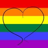 Amor gay Imagen de archivo