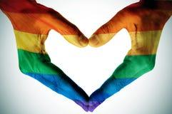 Amor gay fotografía de archivo libre de regalías