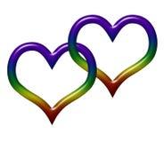 Amor gay stock de ilustración