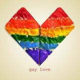 Amor gay Imágenes de archivo libres de regalías