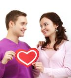 Amor grande Imagem de Stock
