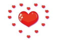 Amor grande Foto de Stock