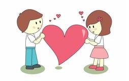 Amor grande Imagens de Stock Royalty Free