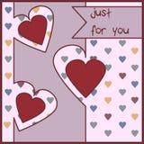 Amor Ilustração do vetor Fotografia de Stock Royalty Free