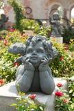 Amor im Garten Stockfoto