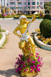 Amor im Garten Lizenzfreie Stockfotografie