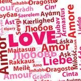 Amor internacional Imagen de archivo