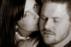 Amor joven fotografía de archivo libre de regalías