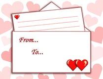 Amor, letra Fotos de Stock
