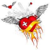 Amor livre ilustração stock