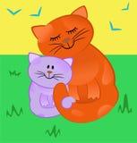 Amor maternal libre illustration