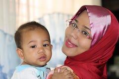 Amor maternal 2 fotografía de archivo libre de regalías