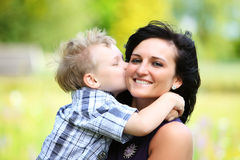 Amor maternal Imagenes de archivo