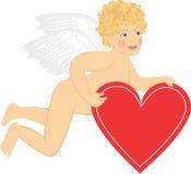 Amor mit Innerem Stockfoto
