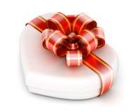 Amor na caixa de presente ilustração royalty free