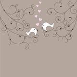 Amor no ar Fotografia de Stock Royalty Free