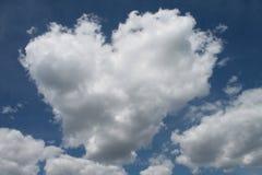 Amor no céu Imagens de Stock Royalty Free