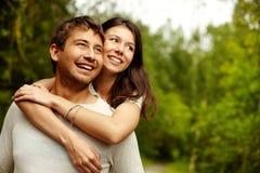 Amor no dia de verão Foto de Stock Royalty Free