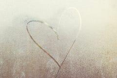 Amor no inverno Festa o 14 de fevereiro Fotos de Stock Royalty Free