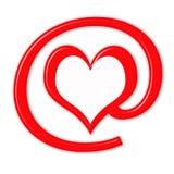 Amor no sinal Ilustração Stock