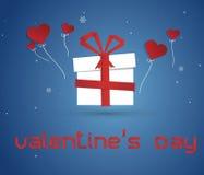 Amor Paperbox Imágenes de archivo libres de regalías