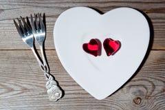 Amor para dois imagem de stock