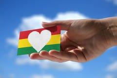 Amor para el reggae Foto de archivo libre de regalías
