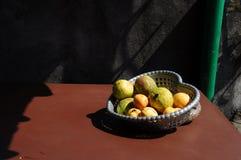 Amor para frutos Imagem de Stock Royalty Free