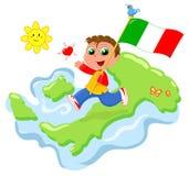 Amor para Italia Imágenes de archivo libres de regalías