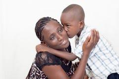 Amor para la madre Fotos de archivo libres de regalías