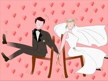 Amor para sempre Imagens de Stock