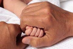 Amor parental Foto de archivo libre de regalías